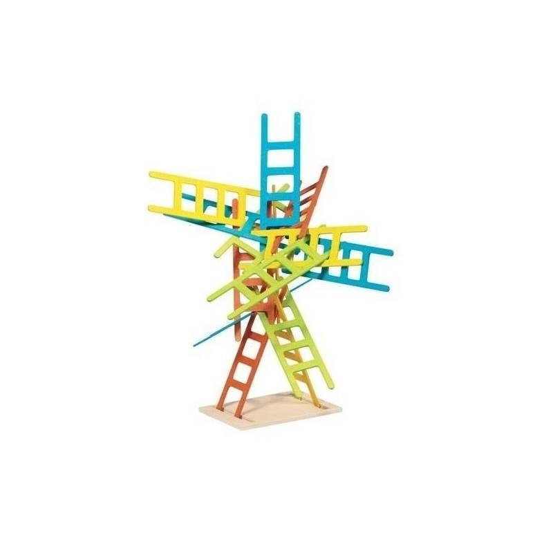 GOKI Gra rodzinna zręcznościowa DRABINKI Rozwija cierpliwość i koordynację ruchową 4+